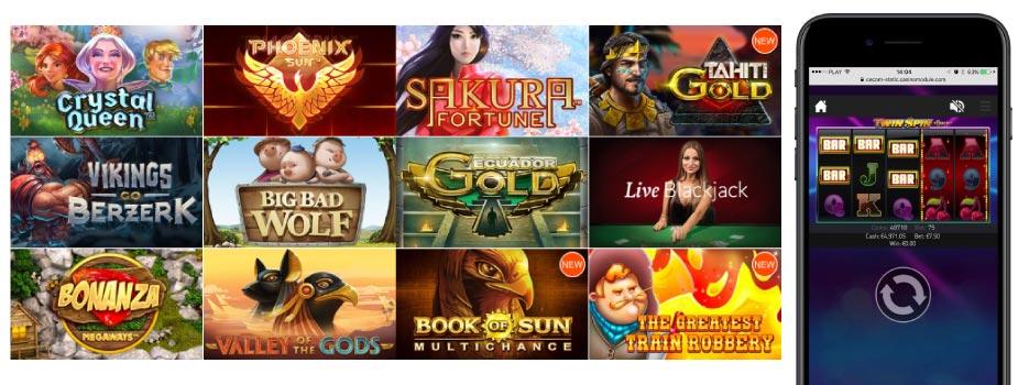 Слоты Casino X для мобильного