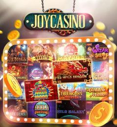 Слоты казино Джой